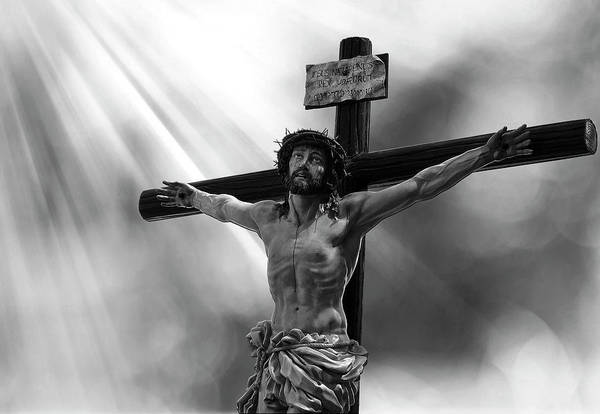 Wall Art - Digital Art - Jesus Crucified by Daniel Hagerman