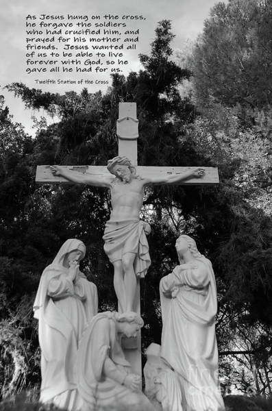 Wall Art - Photograph - Jesus Dies On The Cross by Debby Pueschel