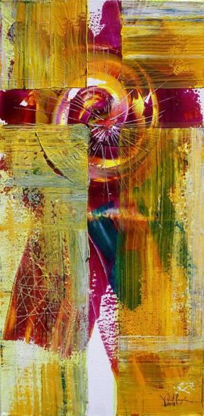 Painting - Jesus Gold 24/7 by J Vincent Scarpace
