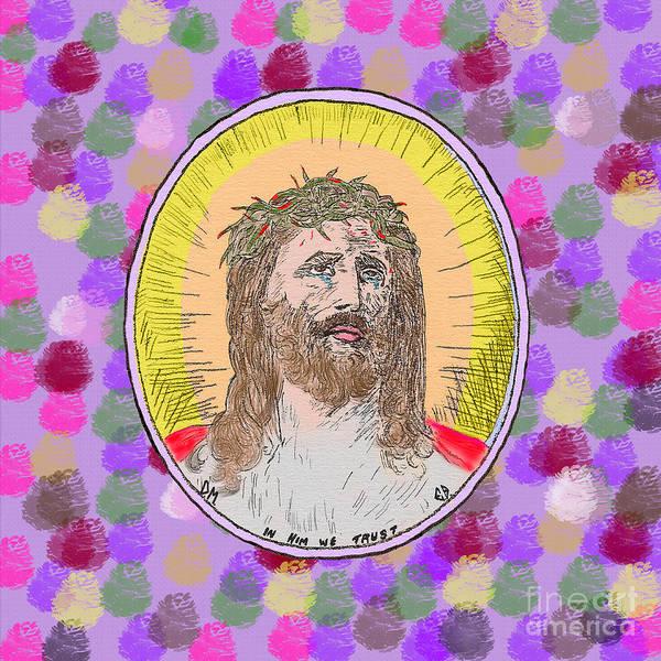 Painting - Jesus Maranatha by Donna L Munro