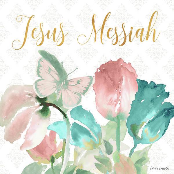 Wall Art - Mixed Media - Jesus Messiah by Lanie Loreth