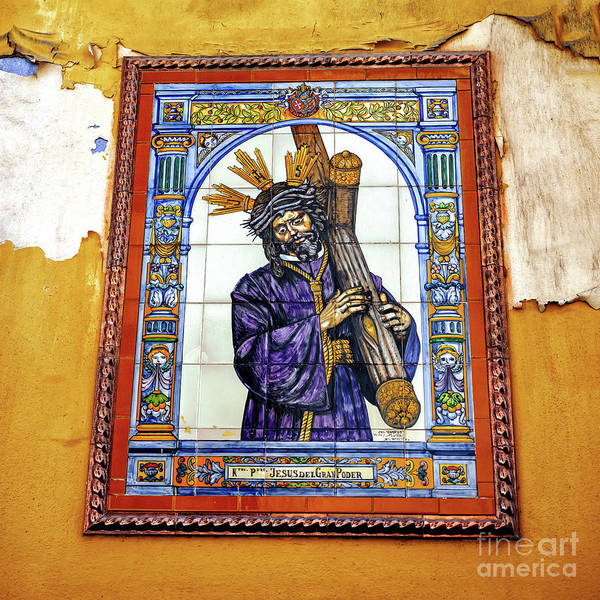 Photograph - Jesus Of The Great Power In Seville by John Rizzuto