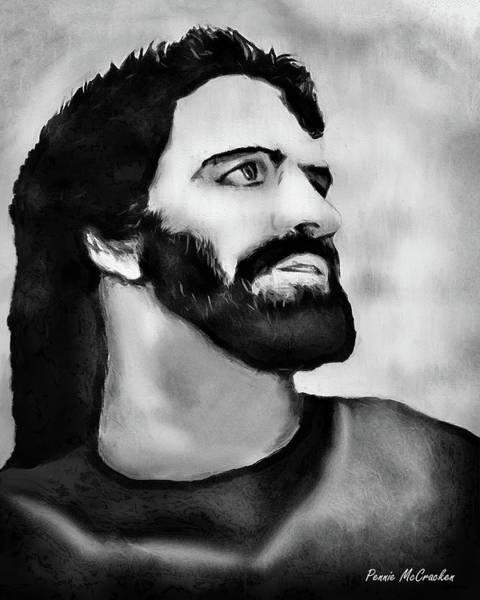 Digital Art - Jesus by Pennie McCracken