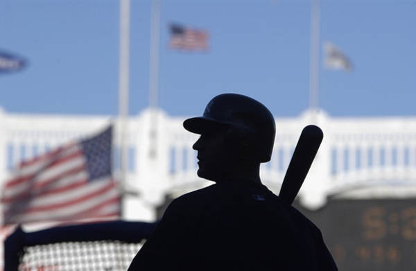 Practice Photograph - Jeter Takes Batting Practice by Ezra Shaw
