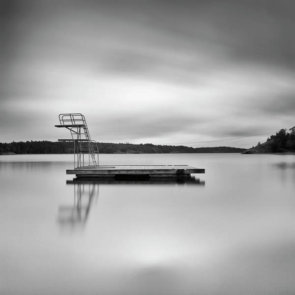 Jetty Photograph - Jetty On Creamy Water by Peter Levi