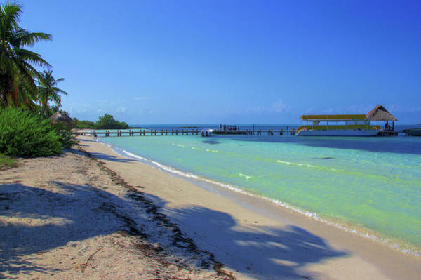 Photograph - Jetty On Isla Contoy by Sun Travels