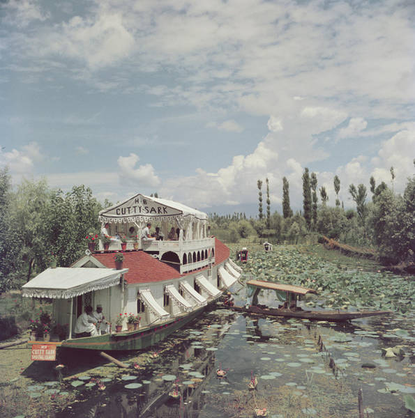 Vertical Photograph - Jhelum River by Slim Aarons