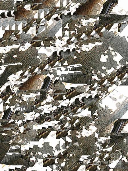 Wall Art - Digital Art - Jigsaw Shadows by Nancy Kane Chapman