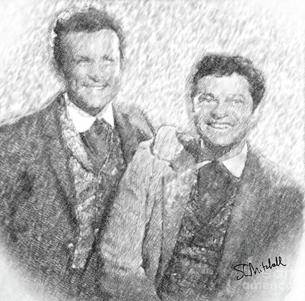 Jim And Artimus Art Print