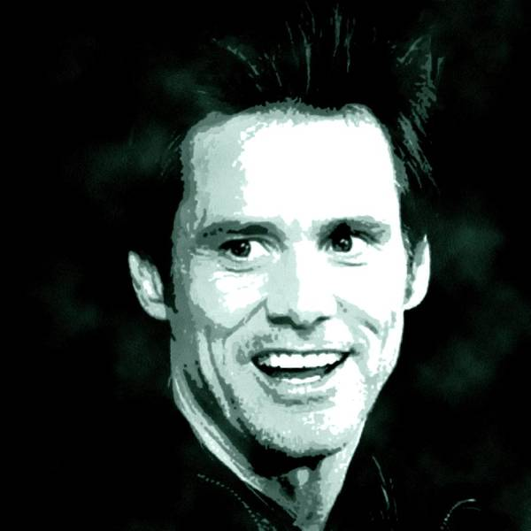 Jim Carrey Painting - Jim Carrey Portrait Painting by Artista Fratta