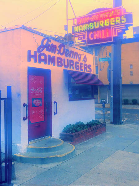 Wall Art - Photograph - Jim - Denny's Hamburgers by Dominic Piperata