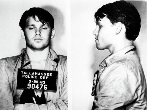 Photograph - Jim Morrison Mugshot 1963 by Bill Cannon