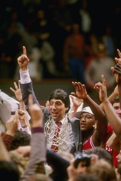Nc State Wall Art - Photograph - Jim Valvano Nc St by Getty Images