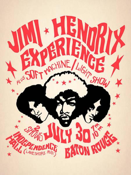 Photograph - Jimi Hendrix Experience by Mark Rogan