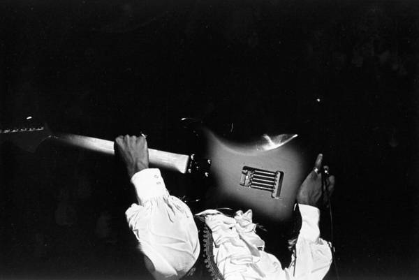 Jimi Hendrix Photograph - Jimi Hendrix Performs At Monterey by Michael Ochs Archives