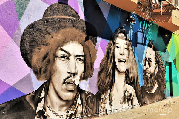 Wall Art - Photograph - Jimi, Janis And Jerry by Diann Fisher
