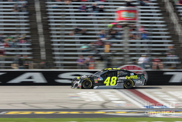 Photograph - Jimmie Johnson  #48 by Paul Quinn