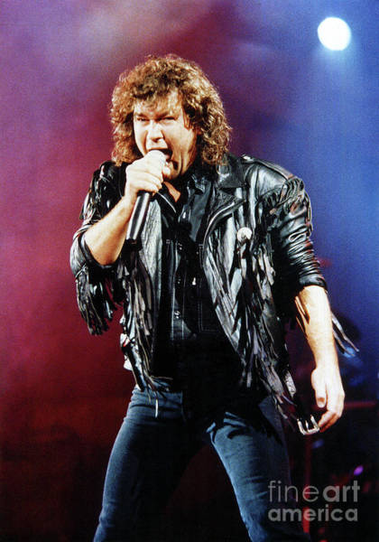 Photograph - Jimmy Barnes 1988 by Russell Brown