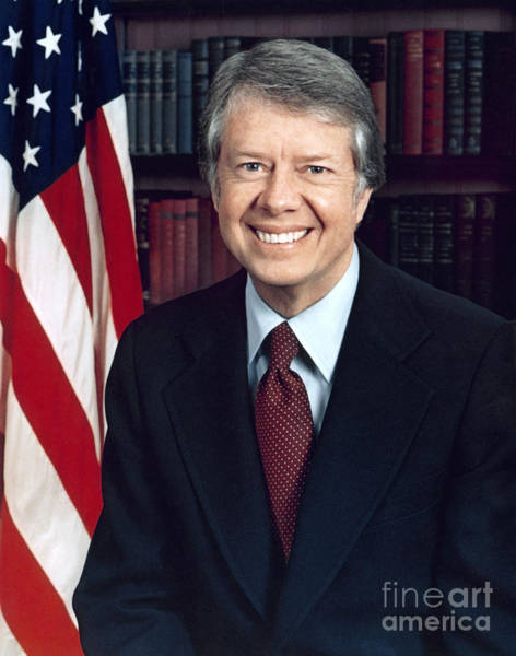 Photograph - Jimmy Carter by Karl Schumacher