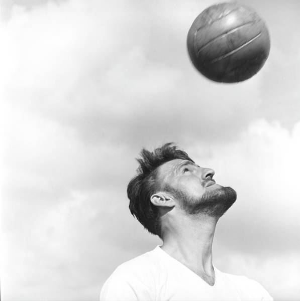 Practice Photograph - Jimmy Hill by Bert Hardy Advertising Archive