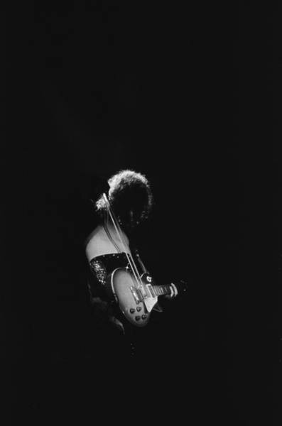 Rock Music Jimmy Page Wall Art - Photograph - Jimmy Page At The Forum by Michael Ochs Archives