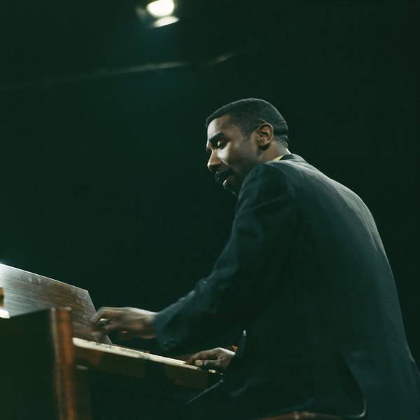 Piano Photograph - Jimmy Smith by David Redfern