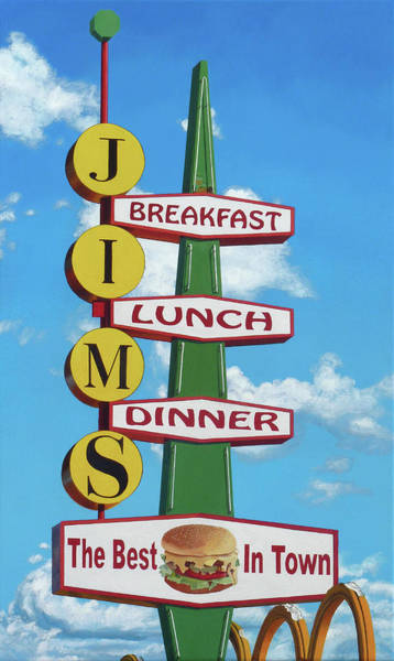 Wall Art - Painting - Jim's by Michael Ward