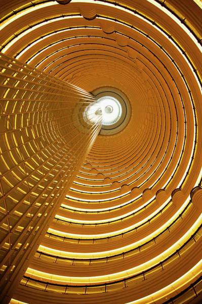 Grand Hotel Photograph - Jin Mao Tower, Shanghai, China by Walter Bibikow