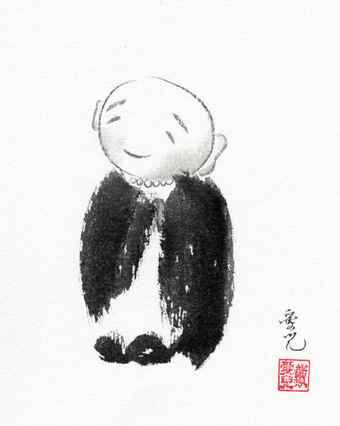 Painting - Jizo by Oiyee At Oystudio