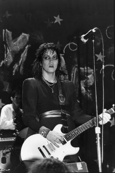 Concert Hall Photograph - Joan Jett At The Ritz by Fred W. McDarrah