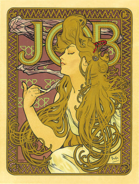 Painting - Job Vintage French Advertising by Vintage French Advertising