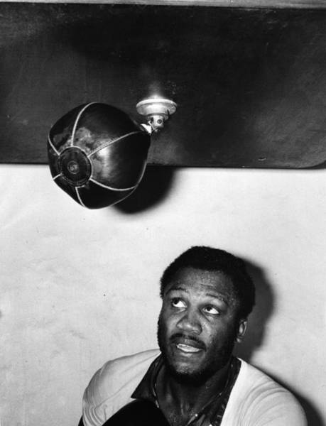 Equipment Photograph - Joe Frazier by Evening Standard