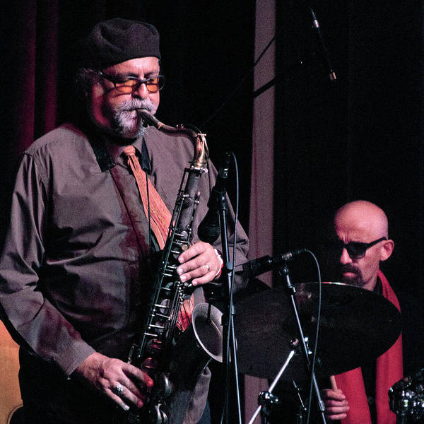 Photograph - Joe Lovano And Lamy Istrefi 2 by Lee Santa