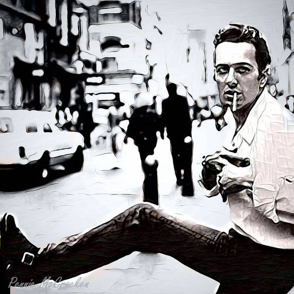 Digital Art - Joe Strummer by Pennie McCracken