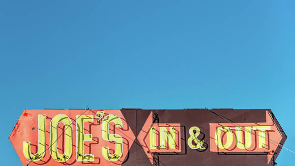 Wall Art - Photograph - Joe's In And Out by Todd Klassy