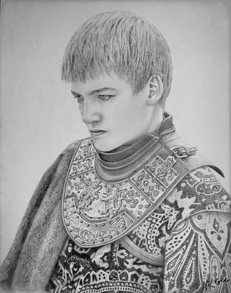 Drawing - Joffrey Baratheon  by Vanessa Cole