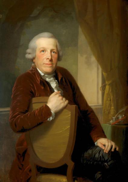 Painting - Johannes Lublink II  by Johann Friedrich August Tischbein