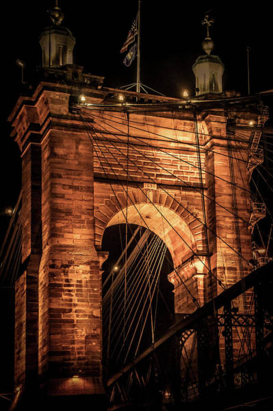 Wall Art - Photograph - John A. Roebling Bridge by Art Spectrum