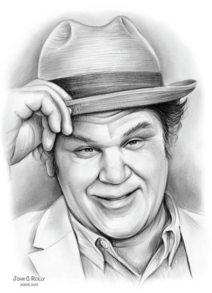 Drawing - John C Reilly by Greg Joens