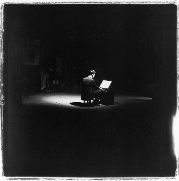 Cage Photograph - John Cage Performs by Fred W. McDarrah