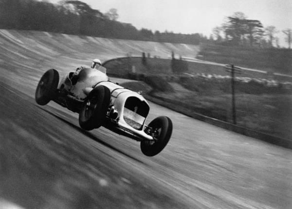 Photograph - John Cobb Racing by Topical Press Agency