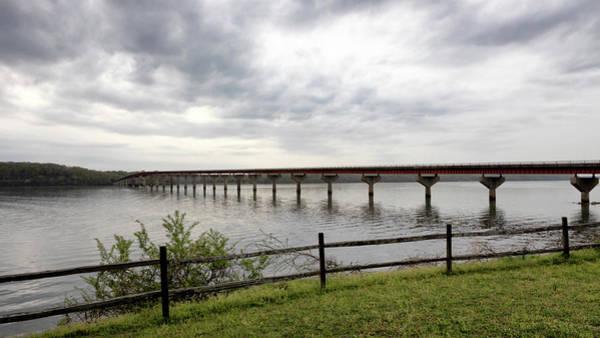 Photograph - John Coffee Memorial Bridge by Susan Rissi Tregoning