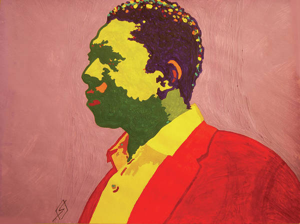 Free Jazz Painting - John Coltrane by Stormm Bradshaw