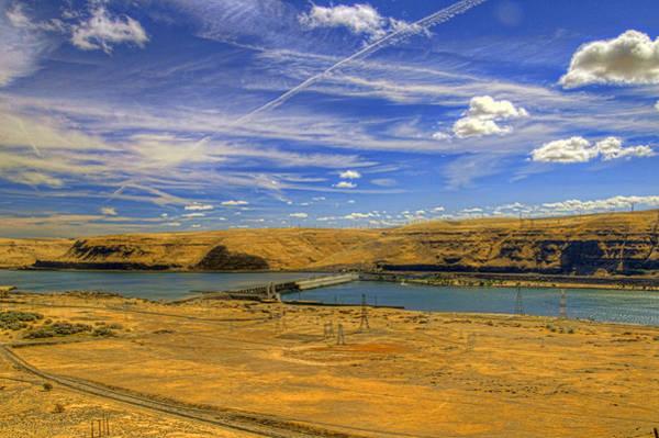 Camera Raw Photograph - John Day Dam Vista by Brenton Cooper