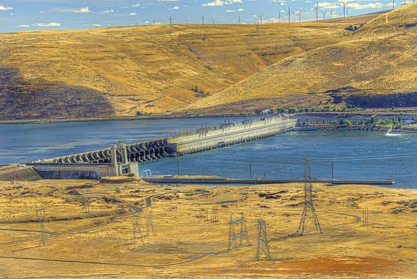 Camera Raw Photograph - John Day Dam Vista II by Brenton Cooper