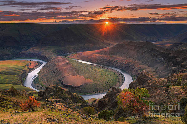 Wall Art - Photograph - John Day River, Oregon by Henk Meijer Photography