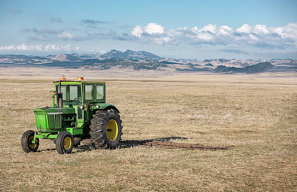 Wall Art - Photograph - John Deere 4020 by Todd Klassy