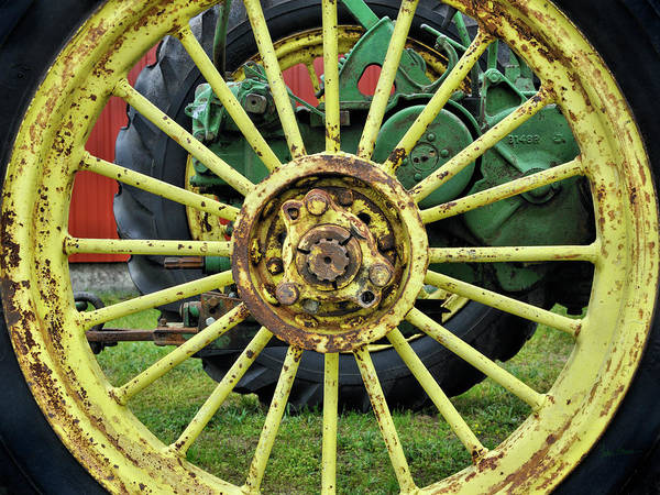 Wall Art - Photograph - John Deere Power - Vintage Style by Luke Moore