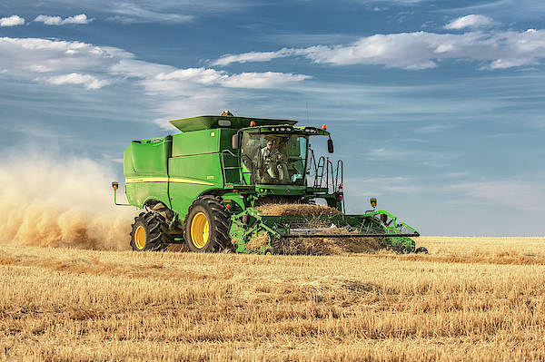 Wall Art - Photograph - John Deere S670 by Todd Klassy