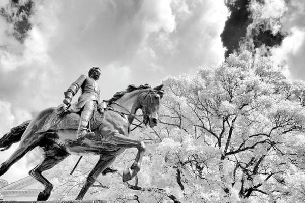 Photograph - John Frederick Hartranft Statue On His Horse by Paul W Faust - Impressions of Light